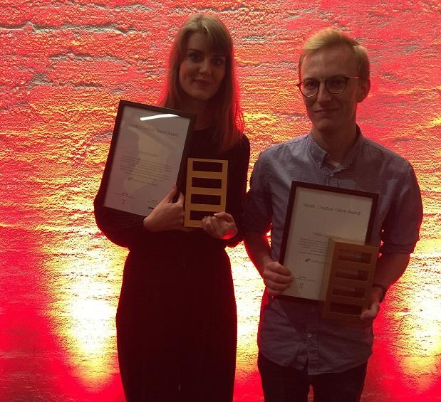 Marina Veziko ja Staffan Sundström. Kuva: Adobe Systems Nordic.