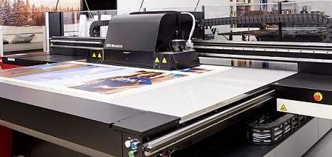 Anapurna-tulostin BESTSELLERIN tuotannossa. Kuva Agfa.