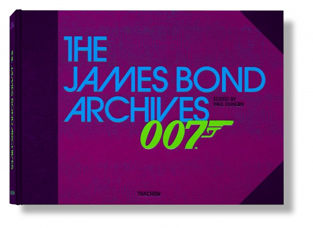 Taschen julkaisi 007:n kunniaksi valtavan 8 kiloa painavan The James Bond Archives -kirjan, jonka hinta-arviot liikkuvat 150 eurosta 800 euroon