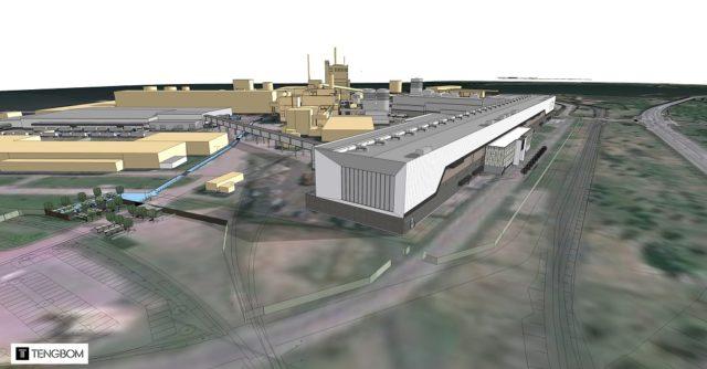 BillerudKorsnäsin Gruvön tehtaan investointisuunnitelma.