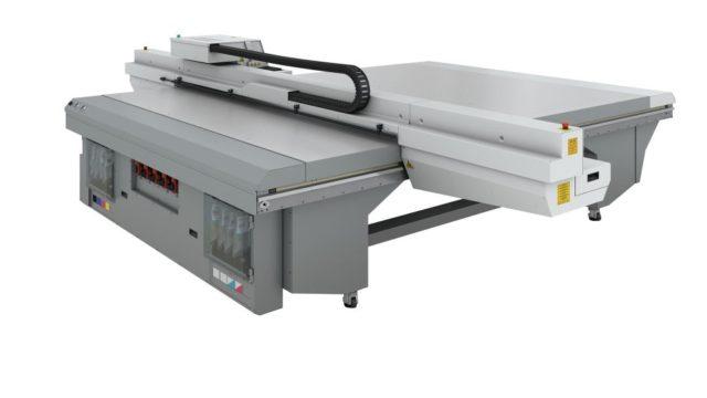 Canonin viidennen sukupolven Océ Arizona 1260 XT UV -tasotulostin.