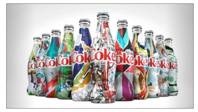 Coca-Cola-die coke-etikettikampanja