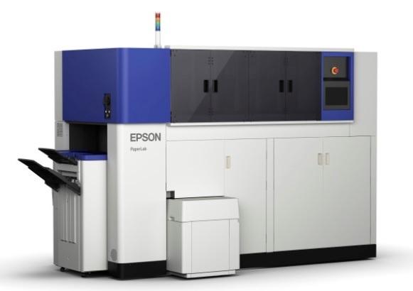 Epsonin PaperLab-laitteen prototyyppi.