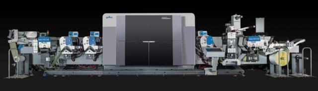Galluksen uusi hybridipainokone DSC340 yhdistää kahta painotekniikkaa. Kuva Heidelberg.
