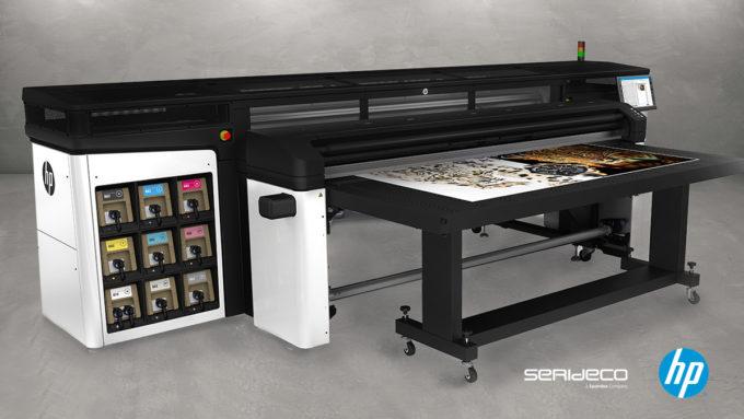 HP Latex R2000 -tasotulostin