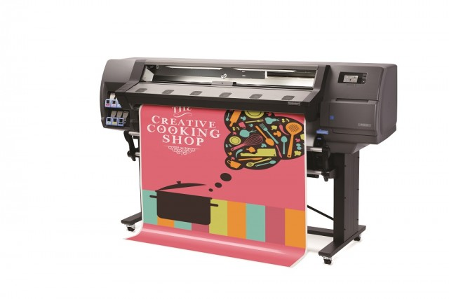 Kuvassa HP Latex 310 -tulostin.