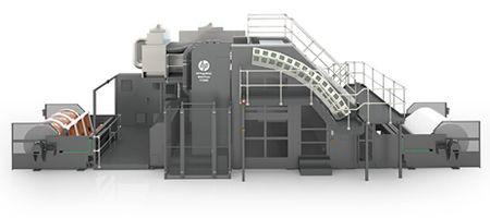 HP:n pakkauspainokone T1100S on kehitetty yhdessä KBA:n kanssa.