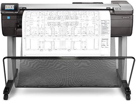 HP DesignJet T830 -monitoimitulostin.