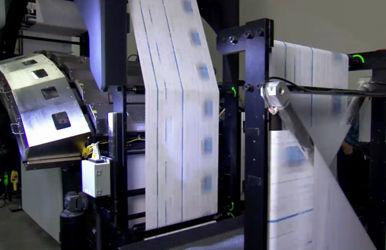 UPM:n paperi sopii nopeaan inkjet-painamiseen. Kuva HP.