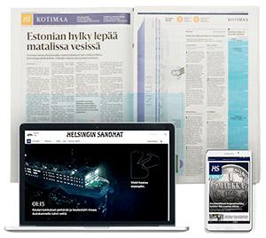HS on suosittu sekä painettuna että digitaalisena versiona.