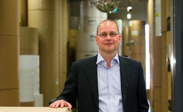 Hansaprintin toimitusjohtaja Heikki Ketonen.
