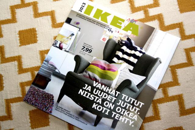Ikean kuvasto on tunnettu ja toimiva markkinoinnin väline.