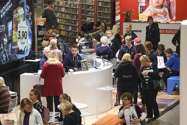 Helsingin kirjamessut 2016.