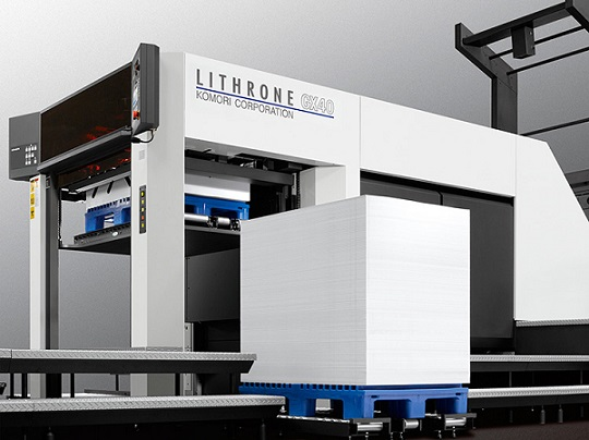 Komori Lithrone GLX40 -painokone.