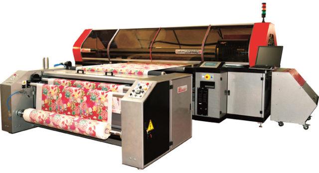 La Meccanican digitaalinen tekstiilipainokone.