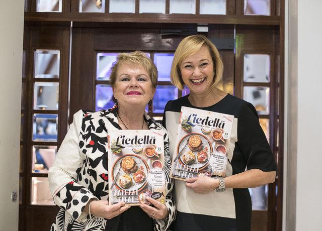 Liedellä-lehden tuotannosta vastaa lidliläisten lisäksi kokeneet ruokatoimittajat Marita Joutjärvi ja Helena Saine-Laitinen.
