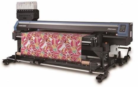 Mimakin Tx300P-1800B -tekstiilitulostin.