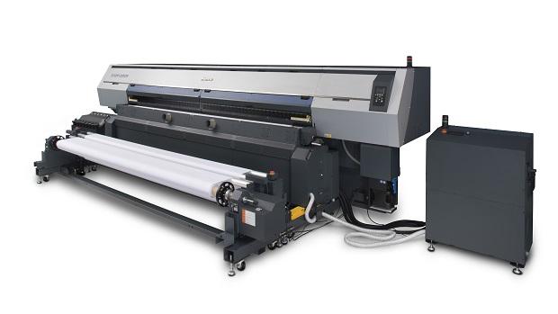 Mimakin Tx500P-3200DS -tekstiilitulostin.