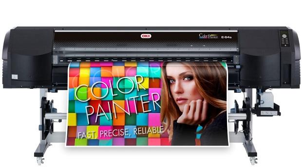 OKI ColourPainter E-64s -tulostin.