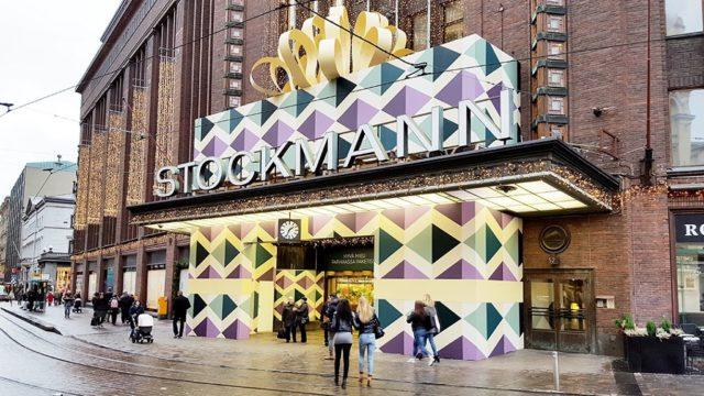 Orle toteutti Helsingin Stockmannin joulusomistuksen 2015.