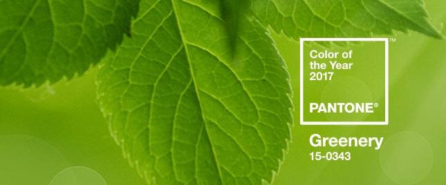 Pantonen vuoden v ri on kev inen vihre print media for Pantone 2017 greenery