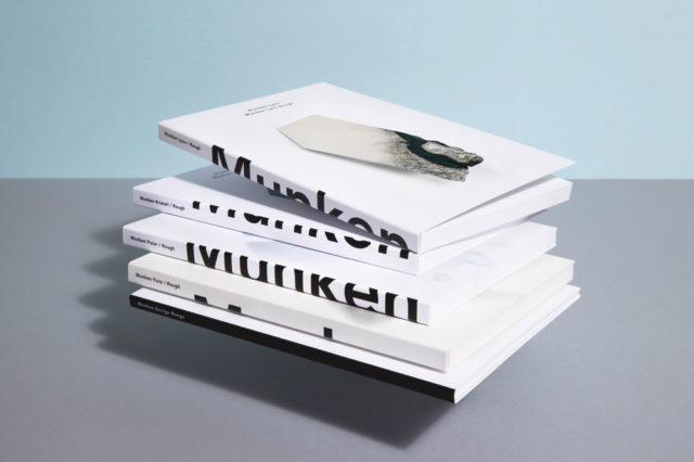 Munken-designpaperin näytekirjoja.
