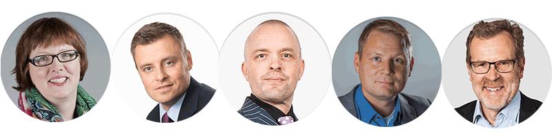 Myyntiaamuseminaarissa puheenvuoron saavat Barbara Hüppe, Toni Berkowits, Ilkka Mattila, Jani Piipari ja Lasse Krogell.
