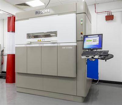 Ricon AM S5500P 3D-tulostin.
