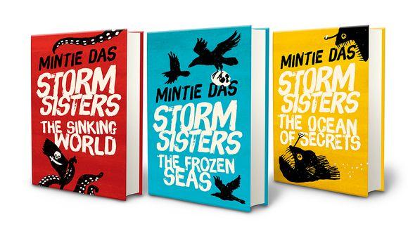 Kaikenin ensimmäinen nuortenkirjasarja on Storm Sisters. Kuva: Rovio.