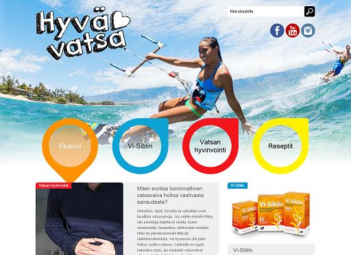 Lääkeyhtiö Pfizer tuotti mm. HS:n verkkosivuille omaan Vatsan toiminta -kampanjaansa liittyviä juttuja.