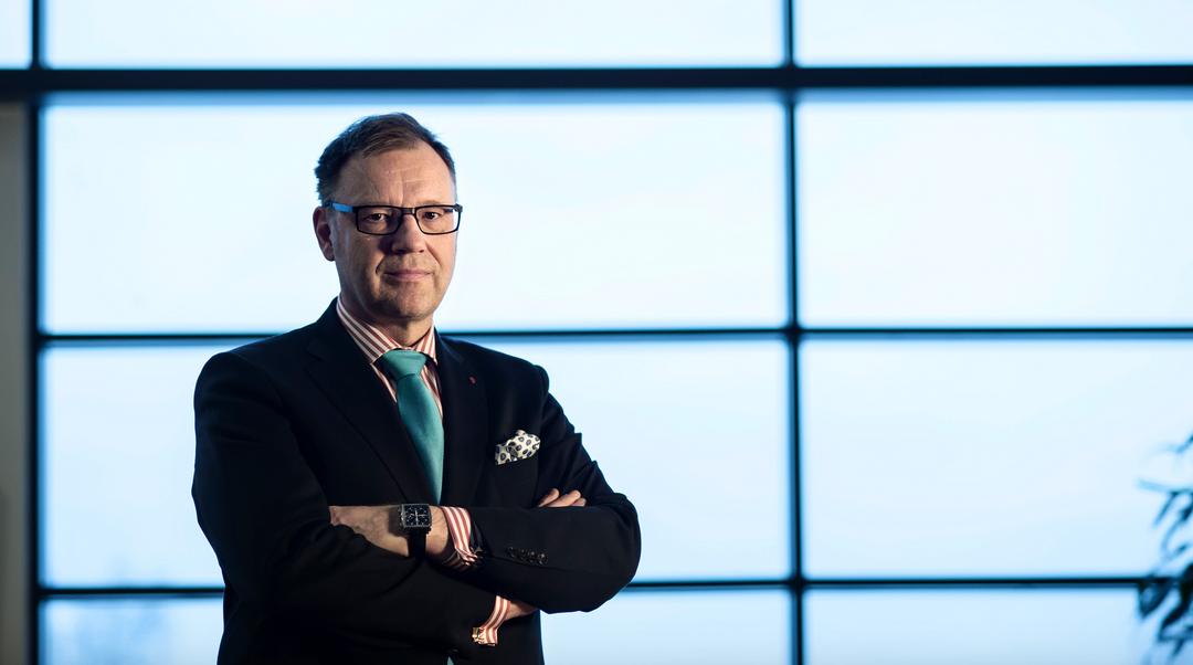 Vesa-Pekka Kangaskorpi on Keskisuomalainen Oyj:n toimitusjohtaja.