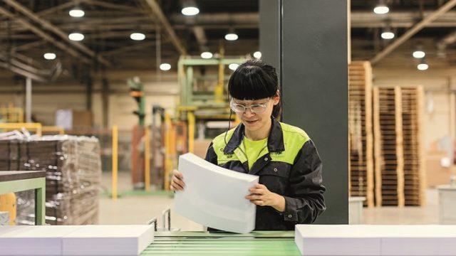 UPM:n kuva on Changshun tehtaalta.