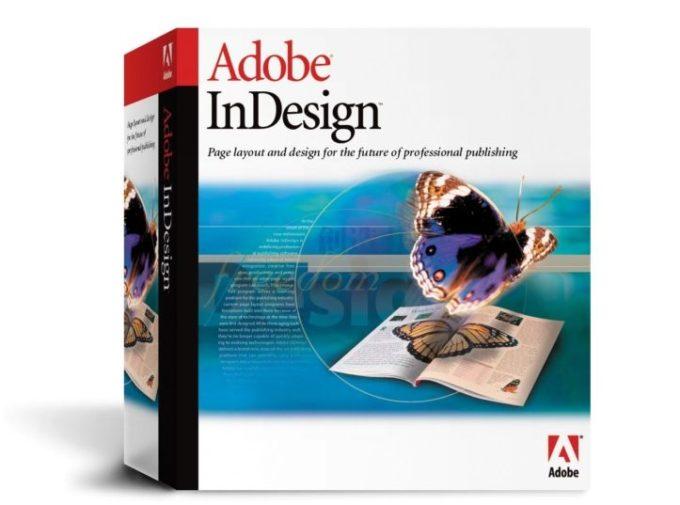 Adobe InDesign mullisti taittojen suunnittelun