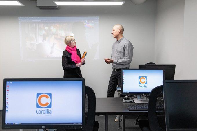Corellia laajentaa Microsoft-koulutuksiin