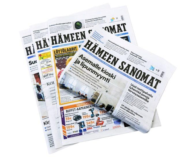 Keskisuomalainen ostaa Hämeen Sanomat -konsernin
