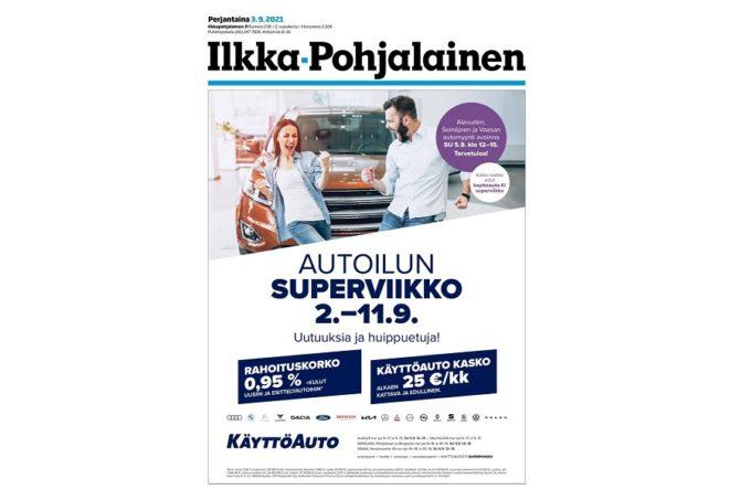 Botnia Print painaa Ilkka-Yhtymän lehdet