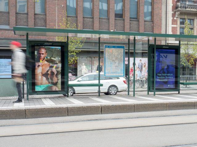 Slush tulee näkymään Helsingin keskustan digitaalisissa mainostauluissa