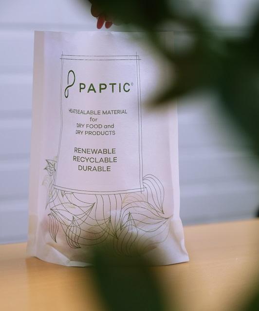 Papticilta uusi materiaali joustopakkauksiin