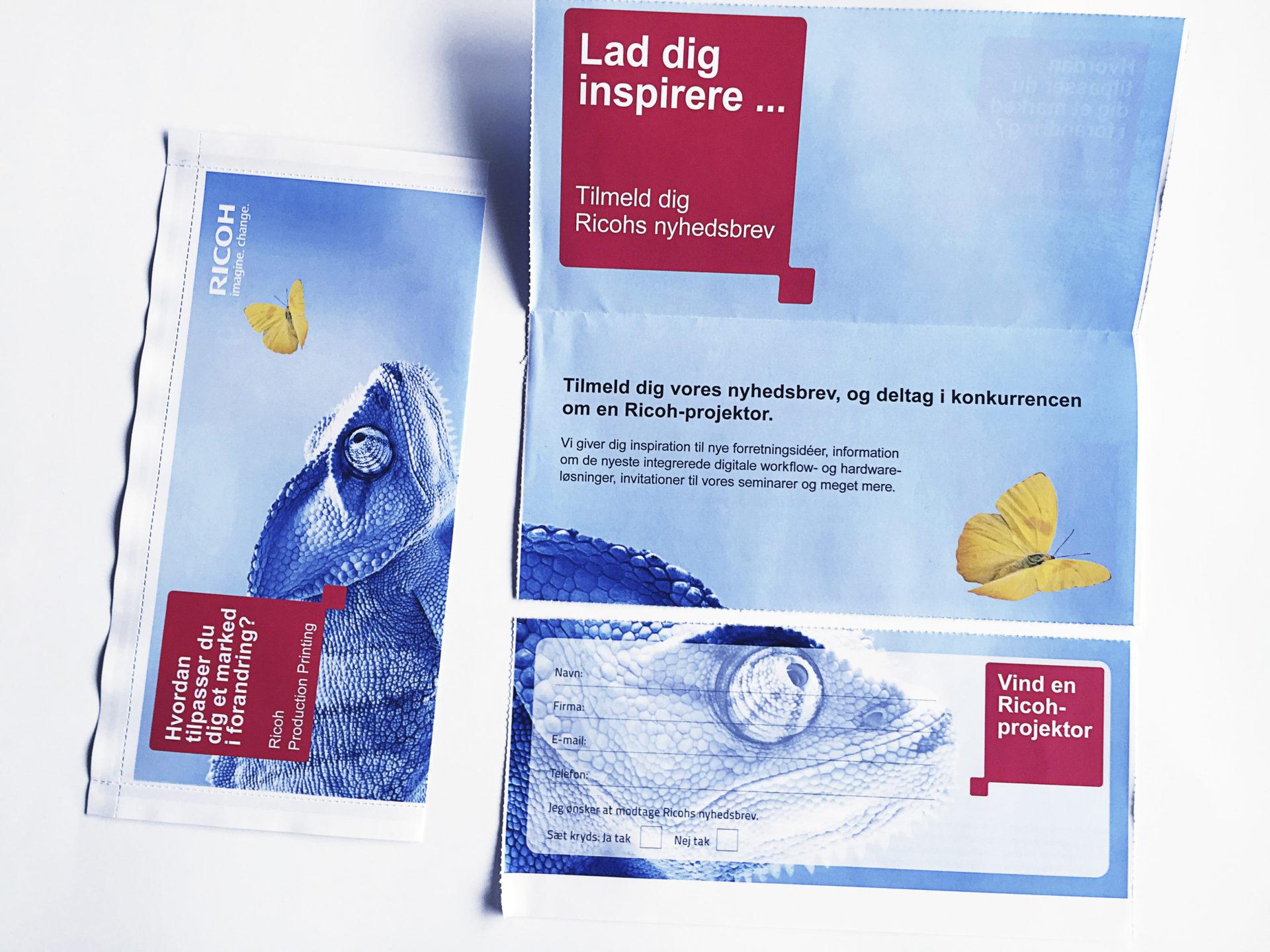 Uudella Print & Seal -tekniikalla voidaan valmistaa kirjekuoria suoraan A4-arkista. Liimausta muistuttava kuoren kiinnitys tapahtuu laitteen omalla väriaineella.