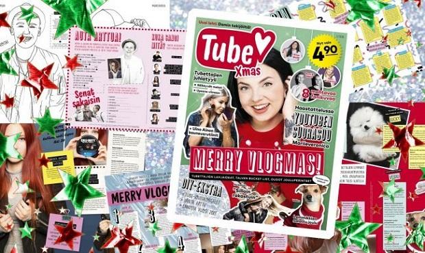 Tube-joululehden julkaisi A-lehtien Demi.